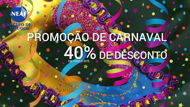 promoção carnaval - Neaf