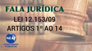 fala jurídica - lei 12.153 09 - Neaf