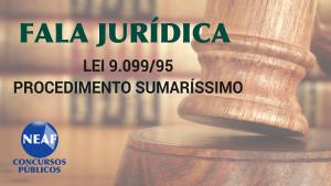fala jurídica procedimento sumaríssimo - Neaf