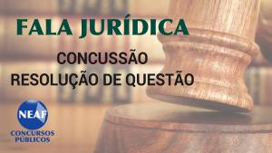 fala jurídica - concussão - blog Neaf